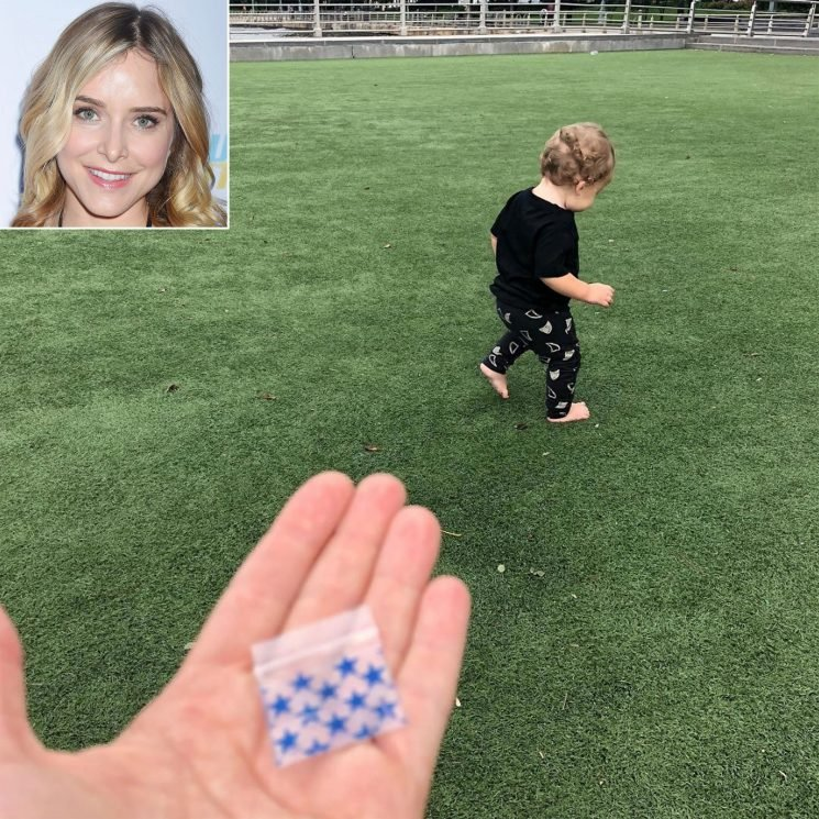 Jenny Mollen Reveals Son Found an 'Empty Coke Bag' While at the Park on His 1st Birthday
