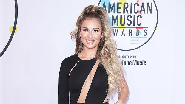 Jessie James Decker Flaunts Cleavage In Sexy Cutout Jumpsuit At AMAs