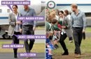 Meghan Markle wears designer Australian jeans and Serena Williams jacket on Oz tour with Prince Harry
