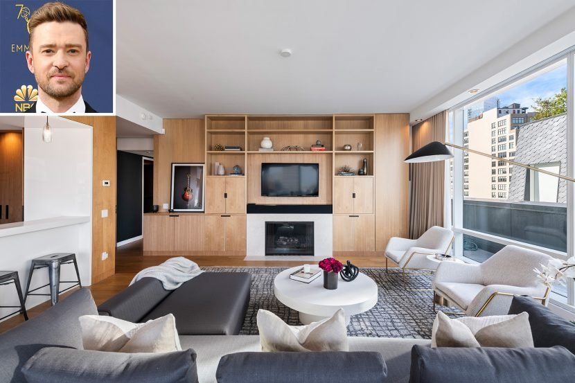 Justin Timberlake Slashes Price of N.Y.C. Penthouse to $6.3 Million — See Inside