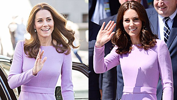 Kate Middleton Shows Off Tiny Waist After Three Kids Re-Wearing Dress From 2017