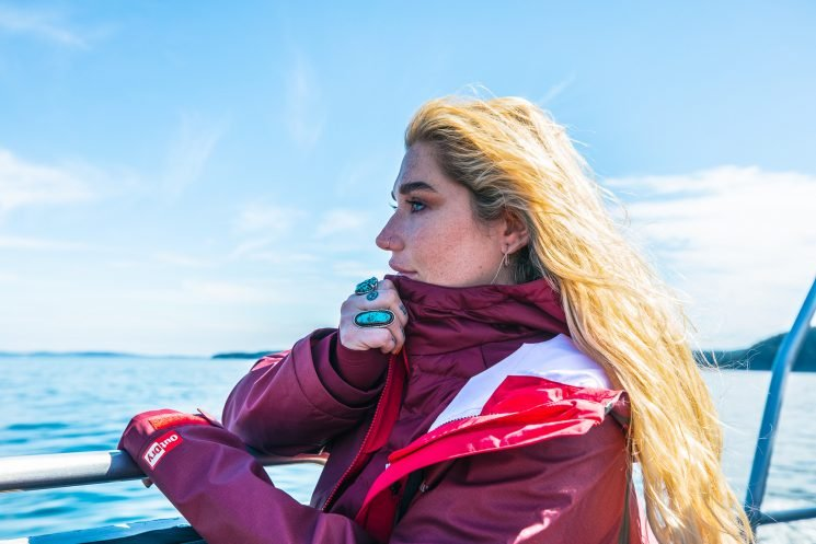Kesha Goes Whale Watching to 'Balance Out' Her 'Insane Life' While Touring and Making Music