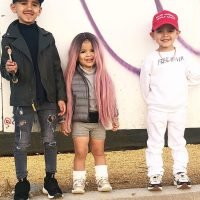 Mom Dresses Her Kids Up as Kanye West, Kim Kardashian and Makeup Artist Mario: 'No Better Trio'
