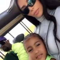 The Wests on Safari! Kim Kardashian and Kanye West Take Daughter North to See Giraffes in Uganda