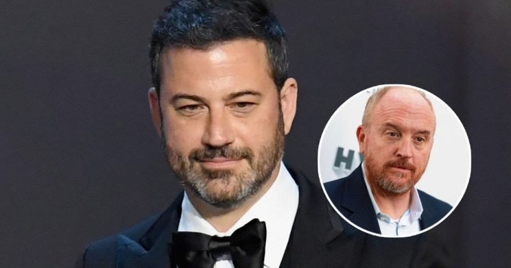 Jimmy Kimmel Says 'Audience Decides' When Disgraced Comedians Like Louis C.K. Can Perform Again