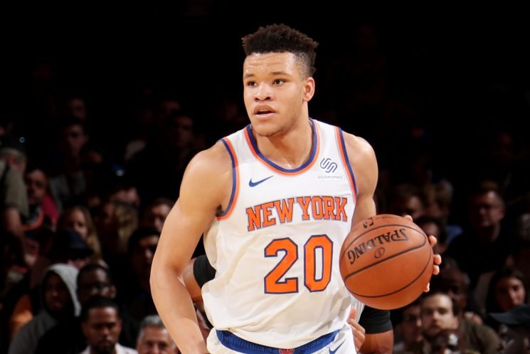 Kevin Knox won't be a Knicks starter in stunning reveal