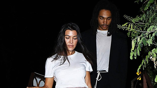 Kourtney Kardashian, 39, & Younger Man Luka Sabbat, 20, Meet Up Again For Shopping Date