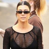 Kourtney Kardashian Gets Some Work Done After Lunch Date With Luka Sabbat & Kendall Jenner!