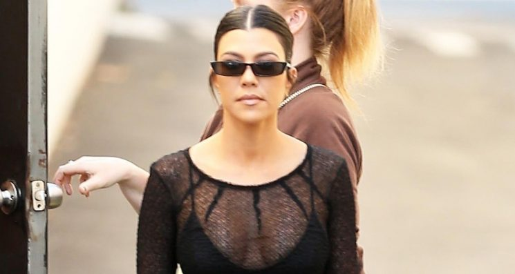 Kourtney Kardashian Gets Some Work Done After Lunch Date With Luka Sabbat & Kendall Jenner!