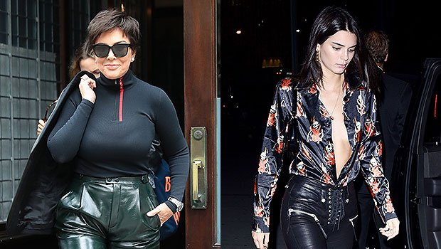 Kris Vs. Kendall Jenner: Who Rocked High-Waisted Leather Pants In NYC Better? See Pics