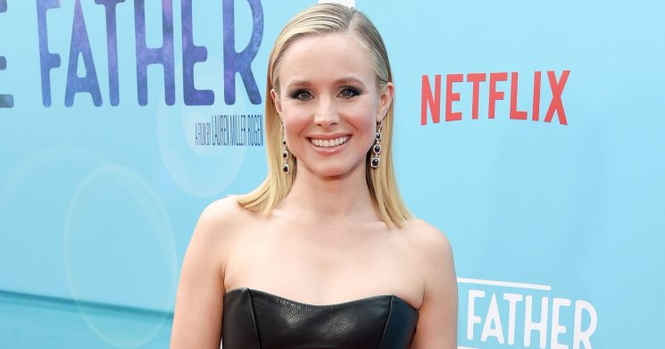 Kristen Bell Shares Rare Pic of Daughters … 'Unshowered'