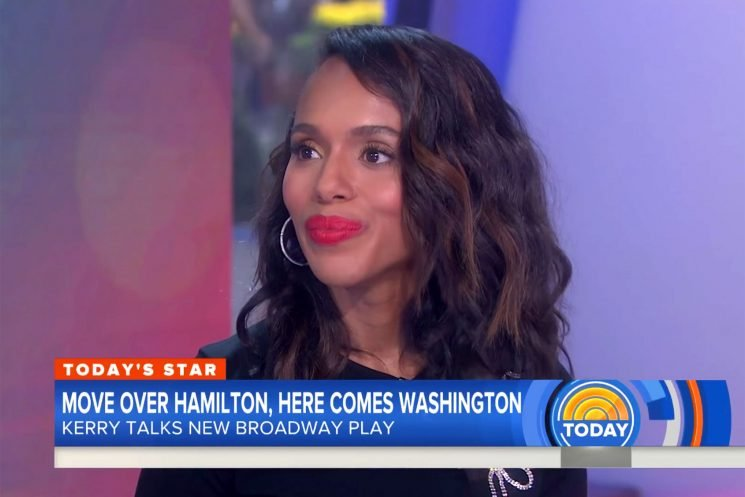 Kerry Washington Corrects Craig Melvin After He Calls Her a Mom of Two: 'I Am a Mother of Three'