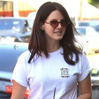 Lana Del Rey Sends a Message on Her T-Shirt Amid Azealia Banks Drama