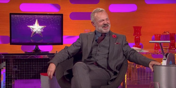 The Graham Norton Show welcomes Star Trek icon and a cinema legend