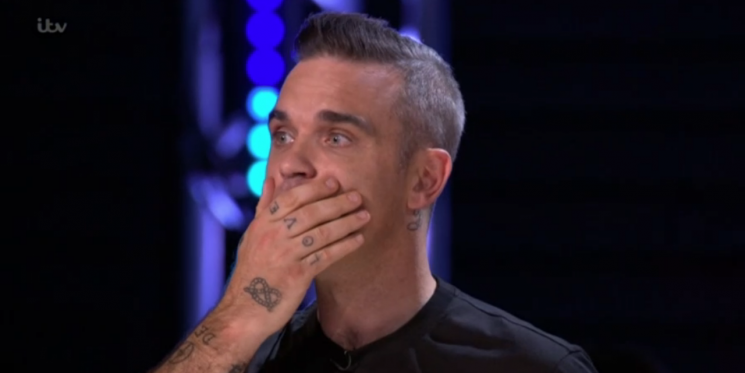The X Factor's Simon Cowell is worried that Robbie Williams might quit