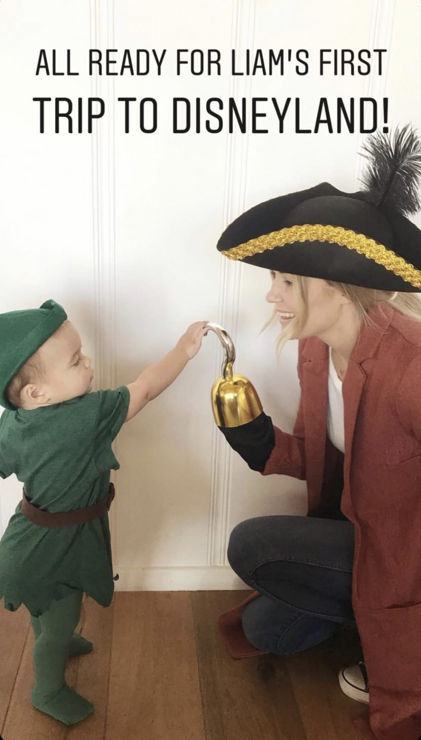 Lauren Conrad Takes Her Son Liam on His First Trip to Disneyland — and They Dress the Part!