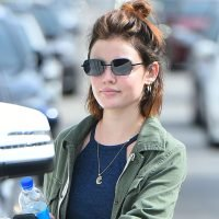 Lucy Hale Hits the Gym Before Heading to a Country Concert!