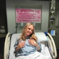 Why This Breast Cancer Survivor Posted a 'No Breastfeeding Zone' Sign in Her Delivery Room
