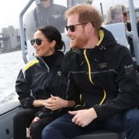 Prince Harry Rushes To Protect Pregnant Meghan Markle As Fisherman Attempts Massive Bear Hug