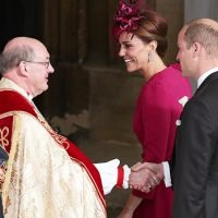 Kate Middleton Stuns In Hot Pink Gown For Cousin-In-Law Princess Eugenie's Wedding