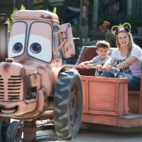 Melissa Joan Hart Celebrates Son Tucker's Sixth Birthday at Disneyland – See the Fun Pictures