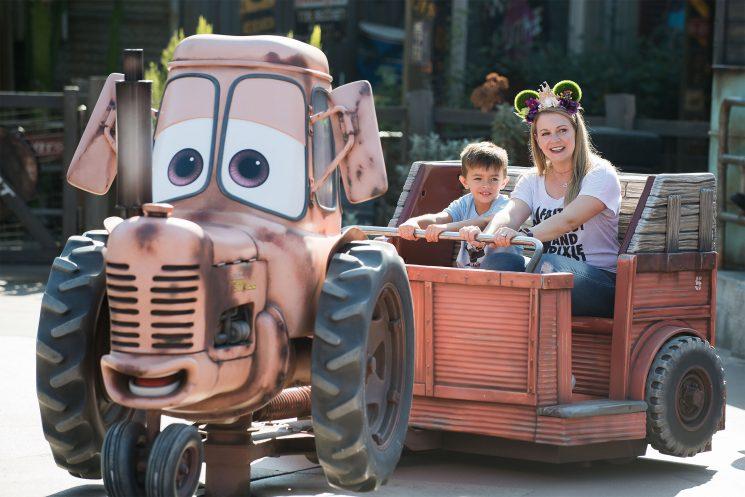 Melissa Joan Hart Celebrates Son Tucker's Sixth Birthday at Disneyland – See the Fun Pictures