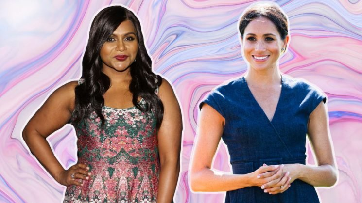 Mindy Kaling Has a Strange Request for Meghan Markle