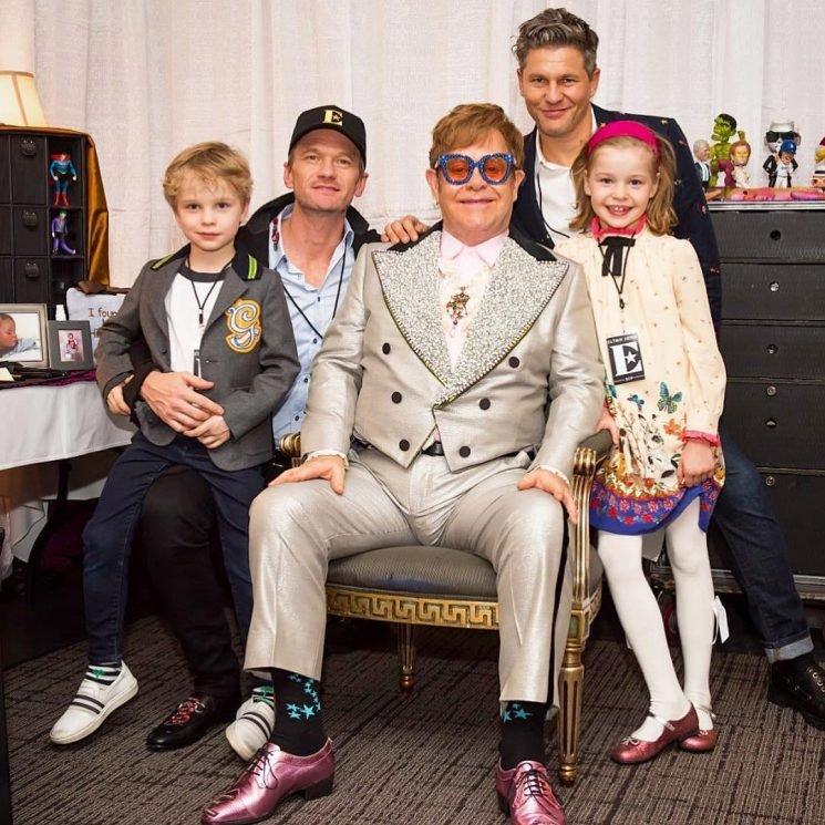 Neil Patrick Harris Takes His Twins to See Elton John on His Farewell Tour: 'Beyond Grateful'