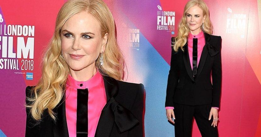 Nicole Kidman Suits Up For Film Fest In London