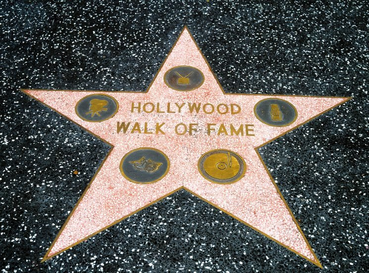 Where is the Hollywood Walk of Fame, what stars are on it and is there a map to your favourite celebs?