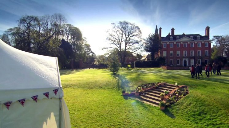 Where is Bake Off filmed? Berkshire's Welford Park hosts the famous tent