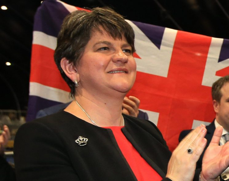 Who is Arlene Foster? Pro-Brexit Democratic Unionist Party leader and former First Minister of Northern Ireland