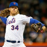 New York Mets Pitcher Noah Syndergaard to Guest Star on History Channel's Vikings — See the First Look of Him in Costume!