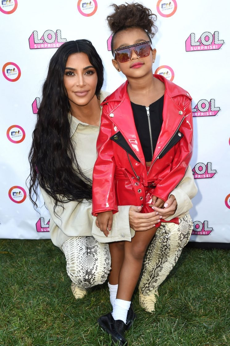 Kim Kardashian Told Daughter North She Could Wear Her Gold Versace Met Gala Gown to Prom One Day