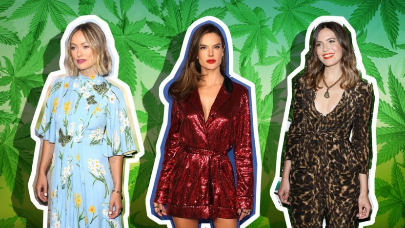 Celebrities Who Swear by Cannabis-Infused Beauty Products