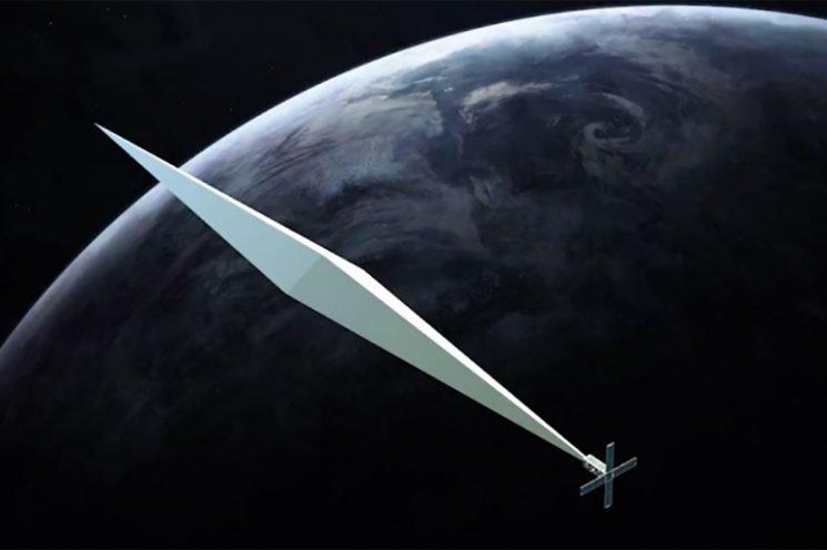 Artist to send huge 'diamond' sculpture into space