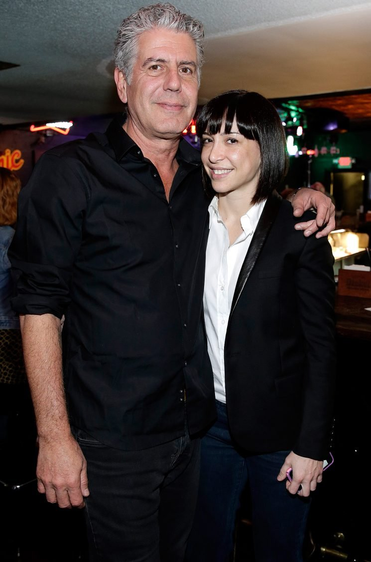 Anthony Bourdain's Wife Ottavia Posts Throwback Family Photo on 4-Month Anniversary of His Death