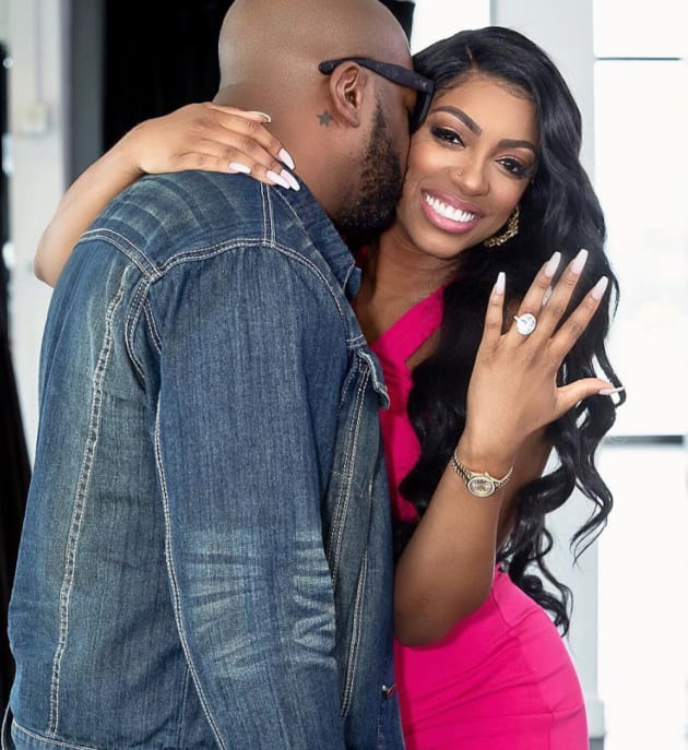 Porsha Williams: Engaged to Her Baby Daddy!