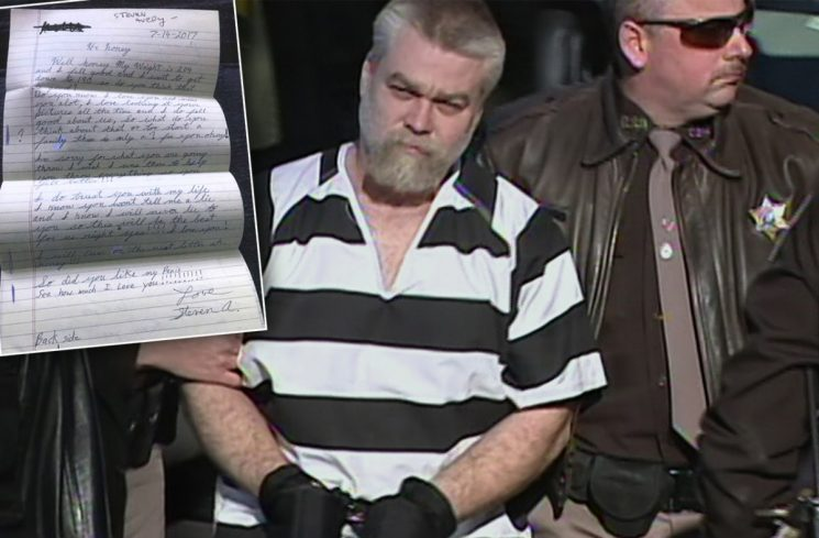 'Making A Murderer' Star's Perverted Letters: Steven Avery Sends Sick Fantasies To Fan!