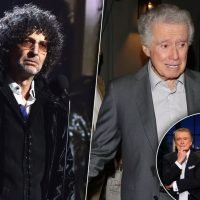 Howard Stern Claims Regis Philbin Was Forced Off 'Live' Because 'He Got Old'