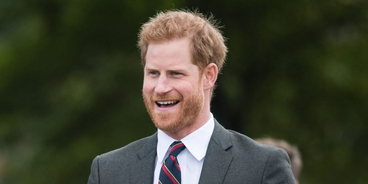 Wait Just a Minute, Prince Harry Is Out Here Kissing Fans!?