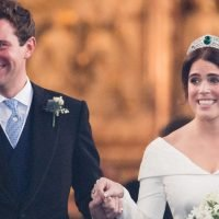 The Speeches at Princess Eugenie's Wedding Reception Made Everyone Cry