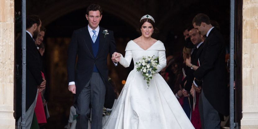 Princess Eugenie's Wedding Dress Purposefully Showed Off Her Scoliosis Surgery Scar