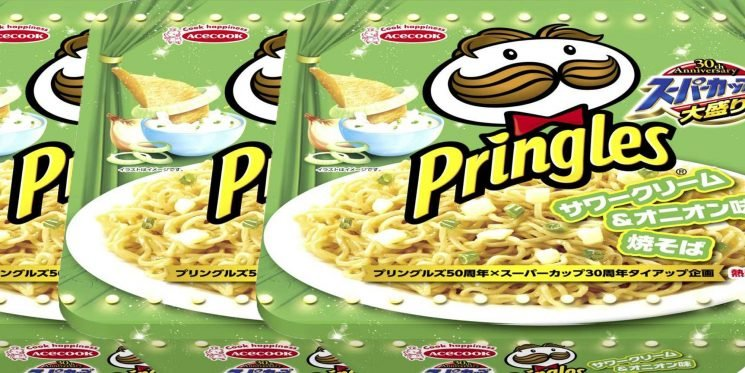 OMG, Sour Cream & Onion Pringles-Flavored Ramen Exists!