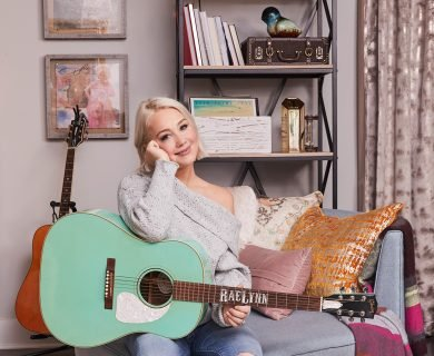 Inside The Voice Contestant and Rising Country Star RaeLynn's 'Bohemian Western' Music Room