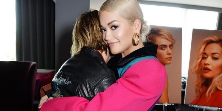 Rita Ora Pulled a Lady Gaga in an Oversize Marc Jacobs Suit