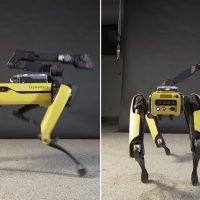 Watch this freaky dog-like robot twerk to 'Uptown Funk'