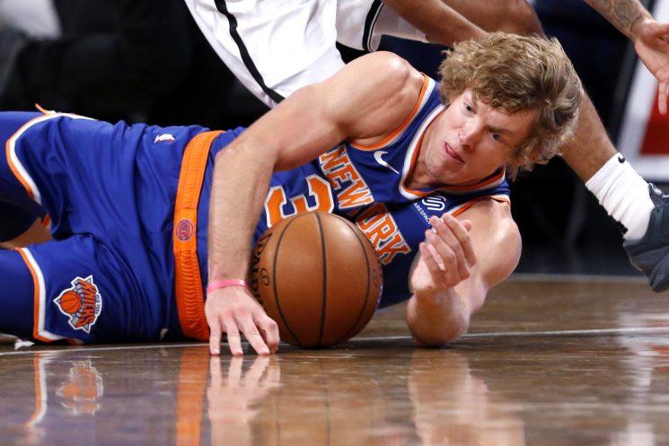 Ron Baker's 'havoc mindset' has him near Knicks roster spot