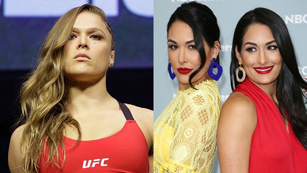 Ronda Rousey Blasts 'Backstabbing Bellas' As The Wrestlers Go To War On Instagram