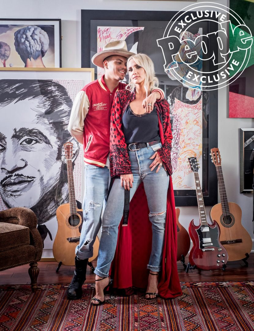 Inside Ashlee Simpson and Evan Ross's L.A. Home, Inspired by the Gramercy Park Hotel